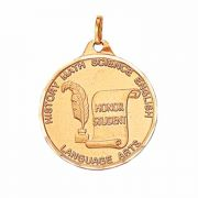 1 1/4in. Honor Student Award Medallion with Ribbon - (Pack of 2)
