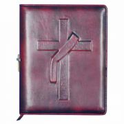 Deacon Cross Personal Leather Journal with Elastic Band Closer