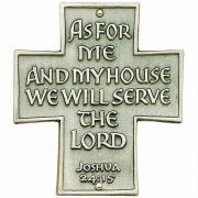 As For Me & My House...House Blessing Wall Plaque - (Pack of 2)