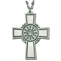 Christian Community Pewter Cross Necklace w/Chain