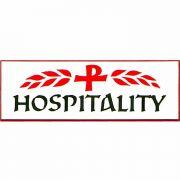 Church Hospitality Badge Large, Easy to Read, w/Bar Pin - 2Pk