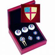 Episcopal Shield Golf Gift Set