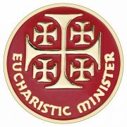 Eucharistic Minister Enameled Colors Lapel Pin - (Pack of 2)