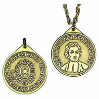Founder's Bronze Two Sided Design Medal w/Chain - (Pack of 2)