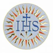Jesuit Gold Plated / Enameled Lapel Pin 1/4in. Post / Clutch Back 2Pk