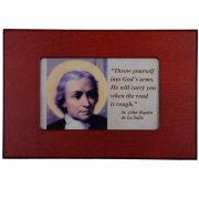 Saint John Baptist De La Salle Wood Keepsake Box