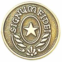 Signum Fidei Lapel Pin 1/4in. Post and Clutch Back - (Pack of 2)