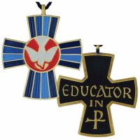 Teaching Ministry: Educator Bronze Pendant w/Cord - (Pack of 2)