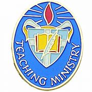 Teaching Ministry Enameled Lapel Pin 1/4in. Post and Clutch Back - 2Pk