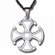 The Canterbury Sterling Silver Cross - w/Chain