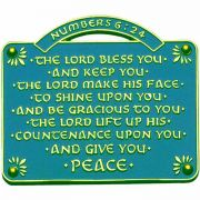 The Lord Bless You & Keep You House Blessing Wall Plaque - 2Pk