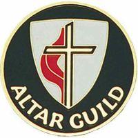 United Methodist Church Altar Guild Enameled Lapel Pin - (Pack of 2)