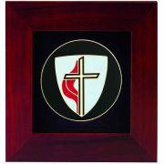United Methodist Church Cross Frame 8x8