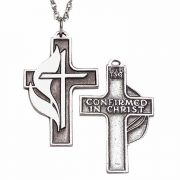 United Methodist Confirmation Pewter Pendant w/Chain - (Pack of 2)