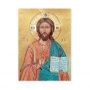 Christ The Teacher 19 X 27 inch Italian Gold Embossed Poster (2 Pack)