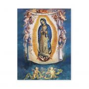 Our Lady Of Guadalupe w/Angels 19 X 27in Gold Embossed Poster (2 Pack)