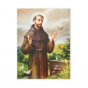 Saint Francis Of Assisi 19 X 27in Gold Embossed Poster (2 Pack)