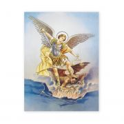 Saint Michael 19 X 27 inch Italian Gold Embossed Poster (2 Pack)