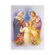 Holy Family 19 X 27 inch Italian Gold Embossed Poster (2 Pack)