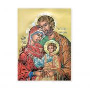Holy Family 19x27 inch Italian Gold Embossed Poster (2 Pack)