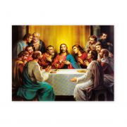 Last Supper 19 X 27 inch Italian Gold Embossed Poster (2 Pack)