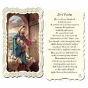 23rd Psalm 2 x 4 inch Holy Card - (Pack of 50)
