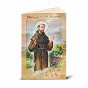 Saint Francis Illustrated Novena Book of Prayer / Devotion (10 Pack)