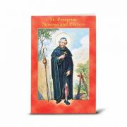 Saint Peregrine Illustrated Novena Book of Prayer / Devotion (10 Pack)