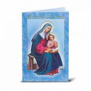 Saint Anne Illustrated Novena Book of Prayer & Devotion (10 Pack)