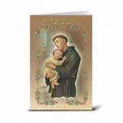 Spanish Saint Anthony Illustrated Novena Book of Prayer (10 Pack)