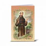 Spanish Saint Francis Of Assisi Illustrated Novena Book (10 Pack)