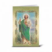Spanish Saint Jude Illustrated Novena Book of Prayer (10 Pack)