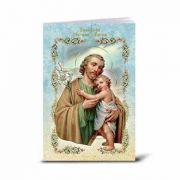 Spanish Saint Joseph Illustrated Novena Book of Prayer (10 Pack)