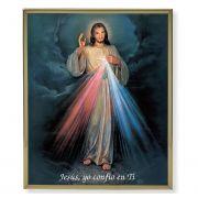 Spanish Divine Mercy 8x10 inch Gold Framed Everlasting Plaque (2 Pack)