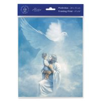 Christ Welcoming Child 8 x 10 inch Print (6 Pack)