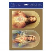 The Sacred Hearts 8 x 10 inch Print (3 Pack)