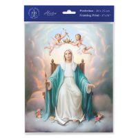 Queen Of Heaven 8 x 10 inch Print (3 Pack)