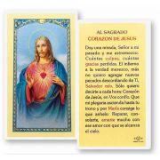 Al Sagrado Corazon De Jesus Holy Card - (Pack Of 31)