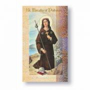 Biography Holy Card Of Saint Rosalia Of Palermo (20 Pack)