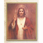Chambers: Sacred Heart Of Jesus 8x10 inch Gold Framed Plaque (2 Pack)