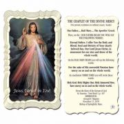 Chaplet Of The Divine Mercy Holy Card - (Pack of 50)