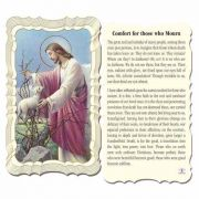 Comfort For Those Who Mourn 2 x 4 inch Holy Card - (Pack of 50)