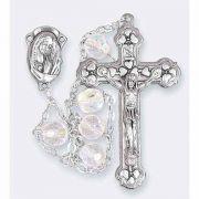 Crystal Aurora Borealis Ladder Rosary