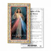 Divine Mercy 2 x 4 inch Holy Card - (Pack of 100)