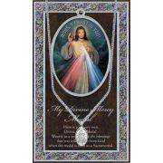 Genuine Pewter Divine Mercy Medal - (Pack Of 2)