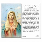 Immaculate Heart Of Mary 2 x 4 inch Paper Holy Card - (Pack of 100)