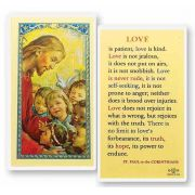 Love Is Patient - Holy Card - (Pack Of 31)