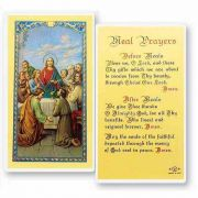 Meal Prayers 2 x 4 inch Holy Card (50 Pack)