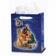 Medium Christmas - Nativity Gift Bag (10 Pack)