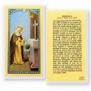 Oracion A Santa Rosa De Lima 2 x 4 inch Holy Card (50 Pack)